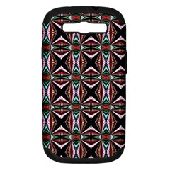 Plot Texture Background Stamping Samsung Galaxy S Iii Hardshell Case (pc+silicone)