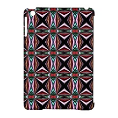 Plot Texture Background Stamping Apple Ipad Mini Hardshell Case (compatible With Smart Cover) by Nexatart