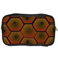 Psychedelic Pattern Toiletries Bags 2 Side by Nexatart