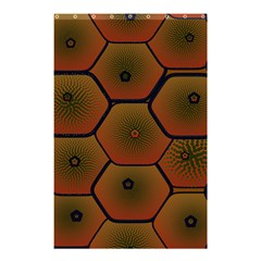 Psychedelic Pattern Shower Curtain 48  X 72  (small)