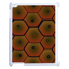 Psychedelic Pattern Apple Ipad 2 Case (white) by Nexatart