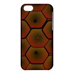 Psychedelic Pattern Apple Iphone 5c Hardshell Case