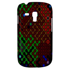 Psychedelic Abstract Swirl Galaxy S3 Mini by Nexatart