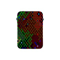 Psychedelic Abstract Swirl Apple Ipad Mini Protective Soft Cases