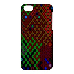 Psychedelic Abstract Swirl Apple Iphone 5c Hardshell Case by Nexatart