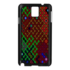 Psychedelic Abstract Swirl Samsung Galaxy Note 3 N9005 Case (black)