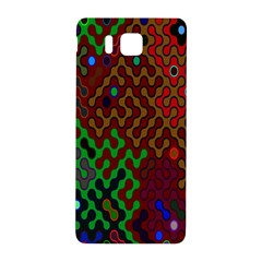 Psychedelic Abstract Swirl Samsung Galaxy Alpha Hardshell Back Case