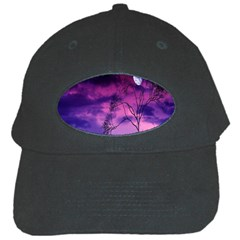 Purple Sky Black Cap