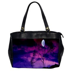 Purple Sky Office Handbags by Nexatart