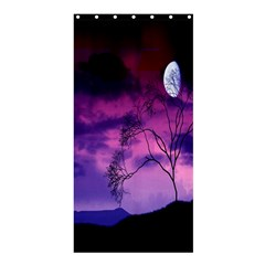 Purple Sky Shower Curtain 36  X 72  (stall)