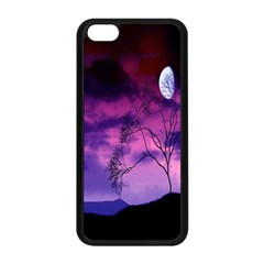 Purple Sky Apple Iphone 5c Seamless Case (black) by Nexatart