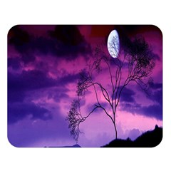 Purple Sky Double Sided Flano Blanket (large)  by Nexatart