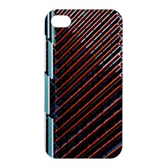 Red And Black High Rise Building Apple Iphone 4/4s Premium Hardshell Case