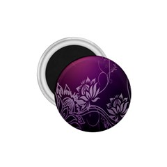 Purple Lotus 1 75  Magnets