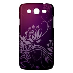 Purple Lotus Samsung Galaxy Mega 5 8 I9152 Hardshell Case
