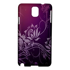 Purple Lotus Samsung Galaxy Note 3 N9005 Hardshell Case