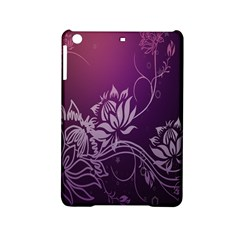 Purple Lotus Ipad Mini 2 Hardshell Cases