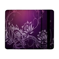 Purple Lotus Samsung Galaxy Tab Pro 8 4  Flip Case