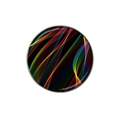 Rainbow Ribbons Hat Clip Ball Marker (10 Pack) by Nexatart