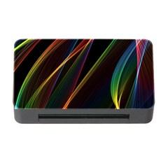 Rainbow Ribbons Memory Card Reader With Cf
