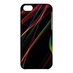 Rainbow Ribbons Apple Iphone 5c Hardshell Case by Nexatart