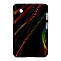 Rainbow Ribbons Samsung Galaxy Tab 2 (7 ) P3100 Hardshell Case  by Nexatart