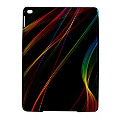 Rainbow Ribbons Ipad Air 2 Hardshell Cases by Nexatart