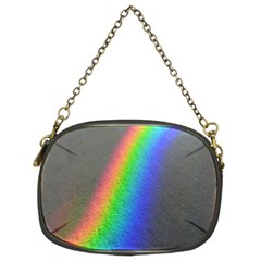 Rainbow Color Spectrum Solar Mirror Chain Purses (two Sides)