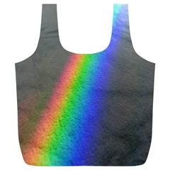 Rainbow Color Spectrum Solar Mirror Full Print Recycle Bags (l)
