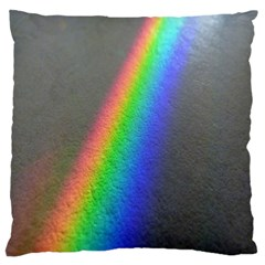 Rainbow Color Spectrum Solar Mirror Standard Flano Cushion Case (two Sides) by Nexatart