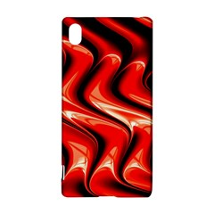 Red Fractal  Mathematics Abstact Sony Xperia Z3+ by Nexatart