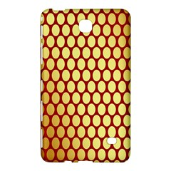 Red And Gold Effect Backing Paper Samsung Galaxy Tab 4 (8 ) Hardshell Case