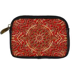 Red Tile Background Image Pattern Digital Camera Cases