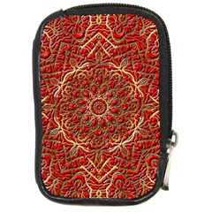 Red Tile Background Image Pattern Compact Camera Cases