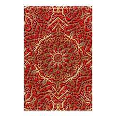Red Tile Background Image Pattern Shower Curtain 48  X 72  (small)