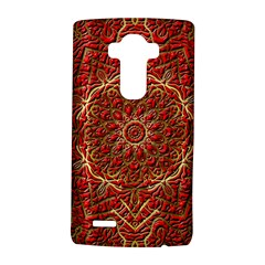 Red Tile Background Image Pattern LG G4 Hardshell Case by Nexatart