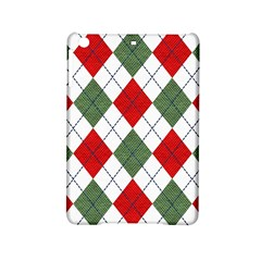 Red Green White Argyle Navy Ipad Mini 2 Hardshell Cases