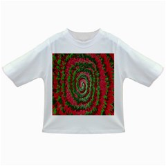 Red Green Swirl Twirl Colorful Infant/toddler T Shirts