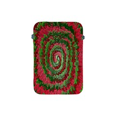 Red Green Swirl Twirl Colorful Apple Ipad Mini Protective Soft Cases