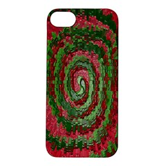 Red Green Swirl Twirl Colorful Apple Iphone 5s/ Se Hardshell Case