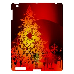 Red Silhouette Star Apple Ipad 3/4 Hardshell Case