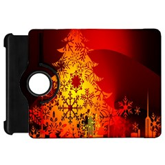 Red Silhouette Star Kindle Fire Hd 7