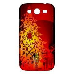 Red Silhouette Star Samsung Galaxy Mega 5 8 I9152 Hardshell Case
