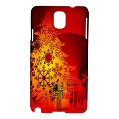 Red Silhouette Star Samsung Galaxy Note 3 N9005 Hardshell Case