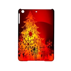 Red Silhouette Star Ipad Mini 2 Hardshell Cases