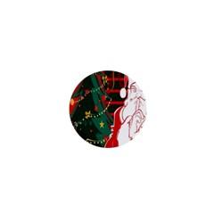 Santa Clause Xmas 1  Mini Buttons by Nexatart
