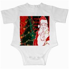 Santa Clause Xmas Infant Creepers
