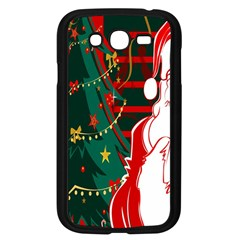 Santa Clause Xmas Samsung Galaxy Grand Duos I9082 Case (black)