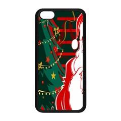 Santa Clause Xmas Apple Iphone 5c Seamless Case (black)