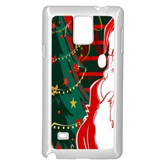 Santa Clause Xmas Samsung Galaxy Note 4 Case (white)